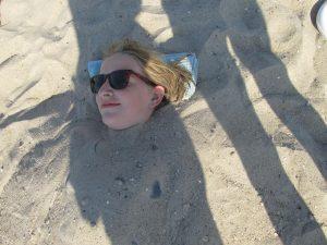 Strand statt Fotos